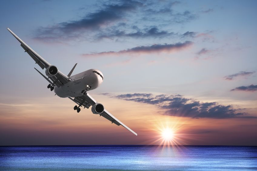 8798951 - jet aircraft over the sea